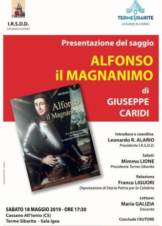 Cassano. Presentazione libro del prof. Giuseppe Caridi