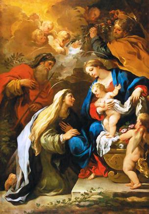 fig. 2 - Luca Giordano- La Sacra famiglia con S. Anna e San Gioacchino - 209 - 147.jpg