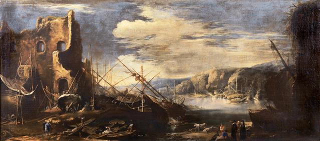 fig. 3 - Salvator Rosa- Marina con barche - 73 - 163.jpg