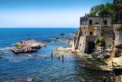 Bagni Rocce Verdi Napoli : Le ville di posillipo quanti ricordi quanta malinconia